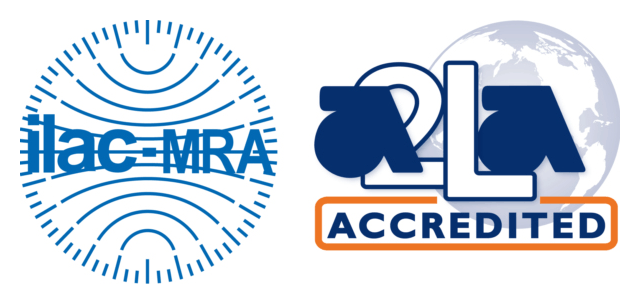 A2LA and ILAC logo